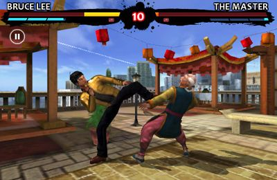 Gameplay screenshots of the Bruce Lee Dragon Warrior for iPad, iPhone or iPod.