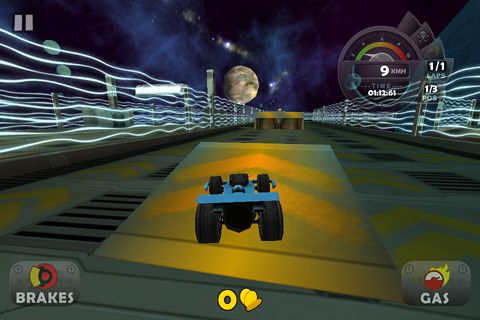 Gameplay screenshots of the Cartoon driving for iPad, iPhone or iPod.