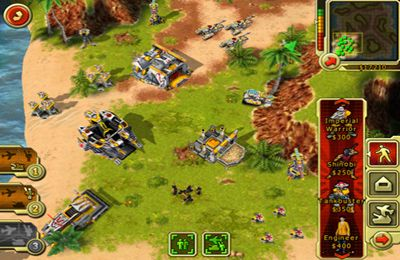 Gameplay screenshots of the Command & Conquer. Red Alert for iPad, iPhone or iPod.