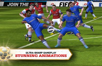 Gameplay screenshots of the FIFA 13 by EA SPORTS for iPad, iPhone or iPod.