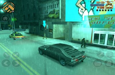 Gameplay screenshots of the Grand Theft Auto 3 for iPad, iPhone or iPod.