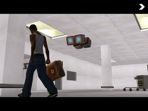 Gameplay screenshots of the Grand Theft Auto: San Andreas for iPad, iPhone or iPod.
