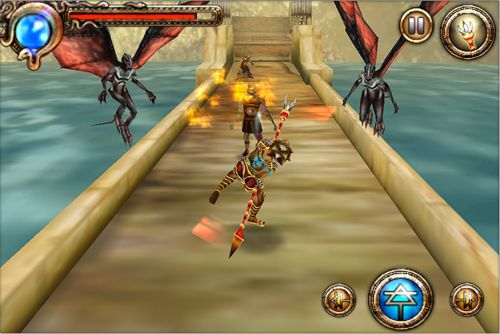 Gameplay screenshots of the Hercules: Curse of the Hydra for iPad, iPhone or iPod.