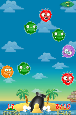 Gameplay screenshots of the Ronaldo: Tropical island for iPad, iPhone or iPod.
