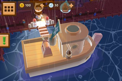 Gameplay screenshots of the Seabeard for iPad, iPhone or iPod.