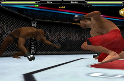 Gameplay screenshots of the UFC Undisputed for iPad, iPhone or iPod.