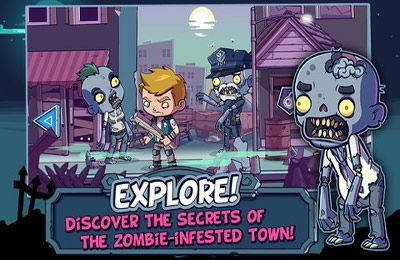 Gameplay screenshots of the Zombies Ate My Friends for iPad, iPhone or iPod.