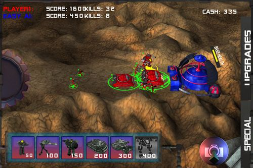 Gameplay screenshots of the Star arena for iPad, iPhone or iPod.