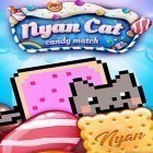 Download Nyan cat: Candy match top iPhone game free.