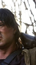 New 540x960 mobile wallpapers Cinema, Humans, Actors, Men, Sylvester Stallone, Rambo free download.