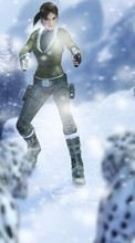 New mobile wallpapers - free download. Lara Croft: Tomb Raider,Games picture and image for mobile phones.