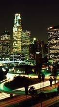 New 800x480 mobile wallpapers Landscape, Cities, Night, Architecture free download.