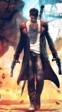 New mobile wallpapers - free download. Devil May Cry,Games picture and image for mobile phones.