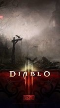New 240x320 mobile wallpapers Games, Diablo free download.