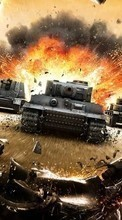 New mobile wallpapers - free download. Games,World of Tanks picture and image for mobile phones.