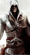 New 240x320 mobile wallpapers Games, Men, Assassin's Creed free download.