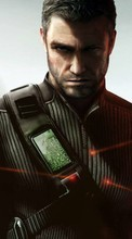 New 800x480 mobile wallpapers Games, Splinter Cell: Conviction, Men free download.