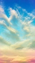 New 320x480 mobile wallpapers Landscape, Sky, Clouds free download.