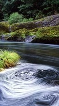 New 240x400 mobile wallpapers Landscape, Water, Rivers free download.