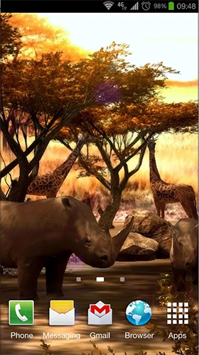 Download Africa 3D free 3D livewallpaper for Android phone and tablet.