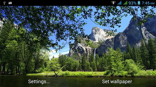 Download Amazing nature free Landscape livewallpaper for Android phone and tablet.