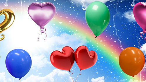 Download Balloons by Cosmic Mobile Wallpapers free Holidays livewallpaper for Android phone and tablet.