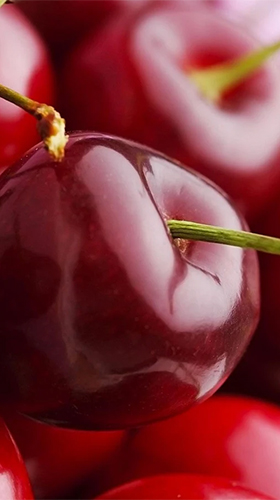 Download Cherry free Food livewallpaper for Android phone and tablet.