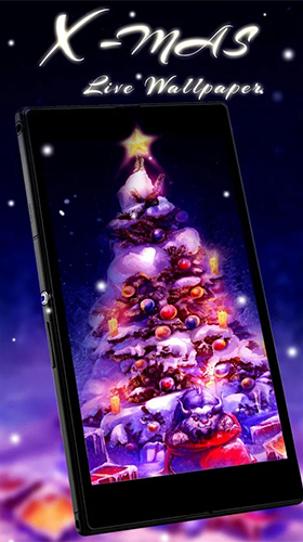 Download Christmas tree by Live Wallpaper Workshop free Holidays livewallpaper for Android phone and tablet.