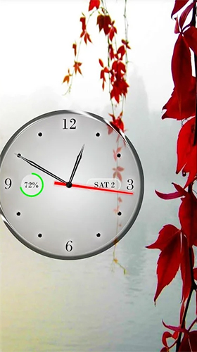 Download Clock, calendar, battery free livewallpaper for Android phone and tablet.