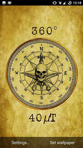Download Compass free Background livewallpaper for Android phone and tablet.