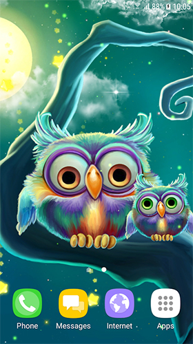 Download Cute owls free Animals livewallpaper for Android phone and tablet.
