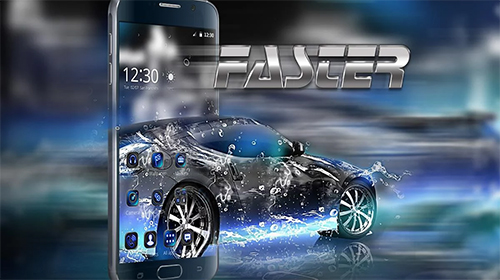 Download Fast theme free Auto livewallpaper for Android phone and tablet.