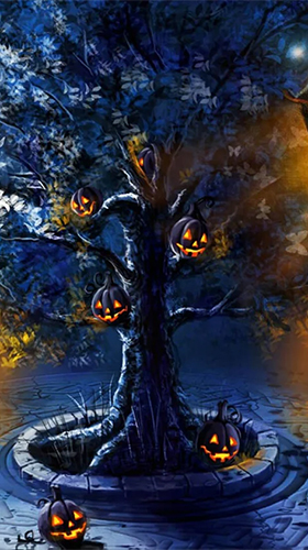 Download Halloween by Art LWP free Fantasy livewallpaper for Android phone and tablet.