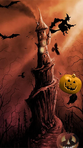 Download Halloween by FexWare Live Wallpaper HD free Fantasy livewallpaper for Android phone and tablet.
