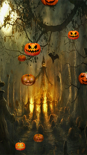 Download Halloween by FlipToDigital free Fantasy livewallpaper for Android phone and tablet.