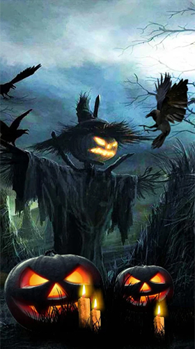 Download Halloween sounds free Fantasy livewallpaper for Android phone and tablet.