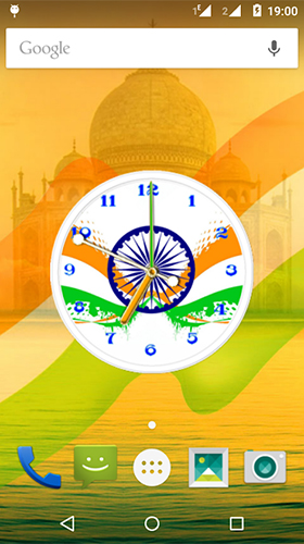 Download India clock by iPlay Store free Abstract livewallpaper for Android phone and tablet.