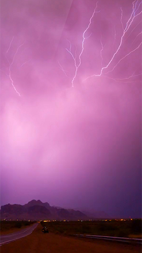 Download Lightning 3D free Landscape livewallpaper for Android phone and tablet.