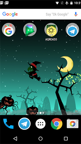 Download Little witch planet free Fantasy livewallpaper for Android phone and tablet.