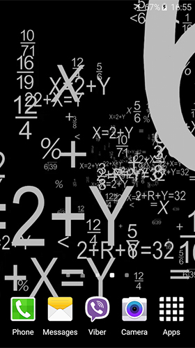 Download Mathematics free Abstract livewallpaper for Android phone and tablet.