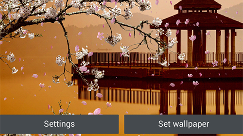 Download Sakura garden free Plants livewallpaper for Android phone and tablet.