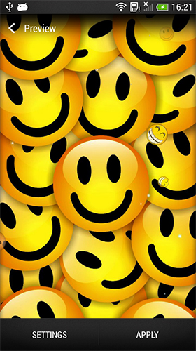 Download Smiley free Background livewallpaper for Android phone and tablet.