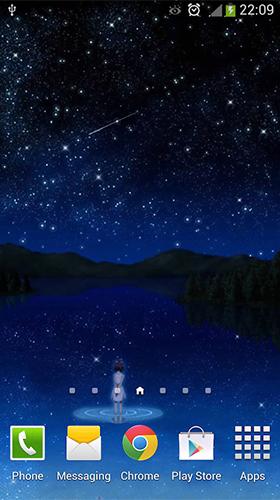 Download Stars by orchid free Space livewallpaper for Android phone and tablet.