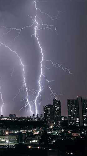 Download livewallpaper Thunderstorm by Creative Factory Wallpapers for Android.