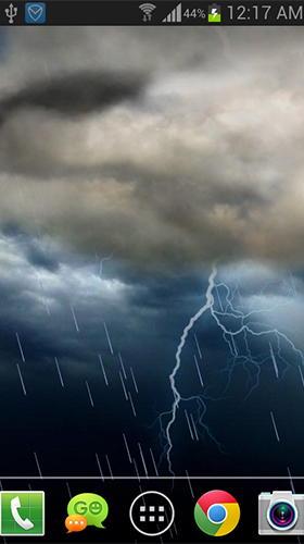Download livewallpaper Thunderstorm by live wallpaper HongKong for Android.