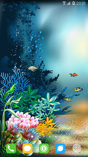 Download Underwater world by orchid free Aquariums livewallpaper for Android phone and tablet.