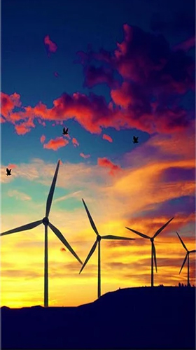 Download Windmill by Live Wallpapers HD free livewallpaper for Android phone and tablet.