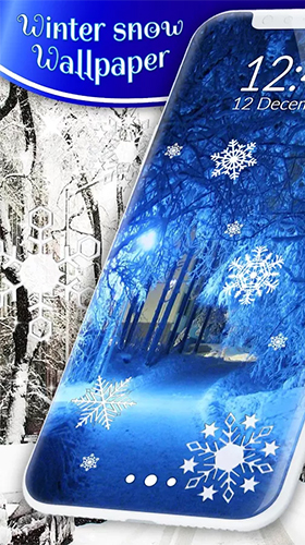 Download Winter snow by 3D HD Moving Live Wallpapers Magic Touch Clocks free With clock livewallpaper for Android phone and tablet.