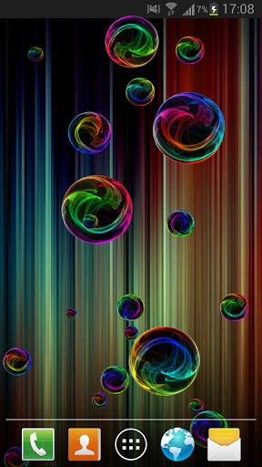 Download Deluxe bubble free livewallpaper for Android 5.1 phone and tablet.