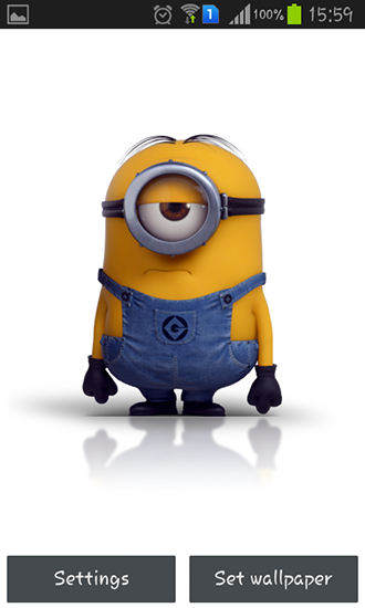Download livewallpaper Despicable me 2 for Android.